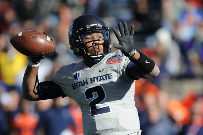NCAA FOOTBALL: DEC 20 Gildan New Mexico Bowl - Utah State v UTEP
